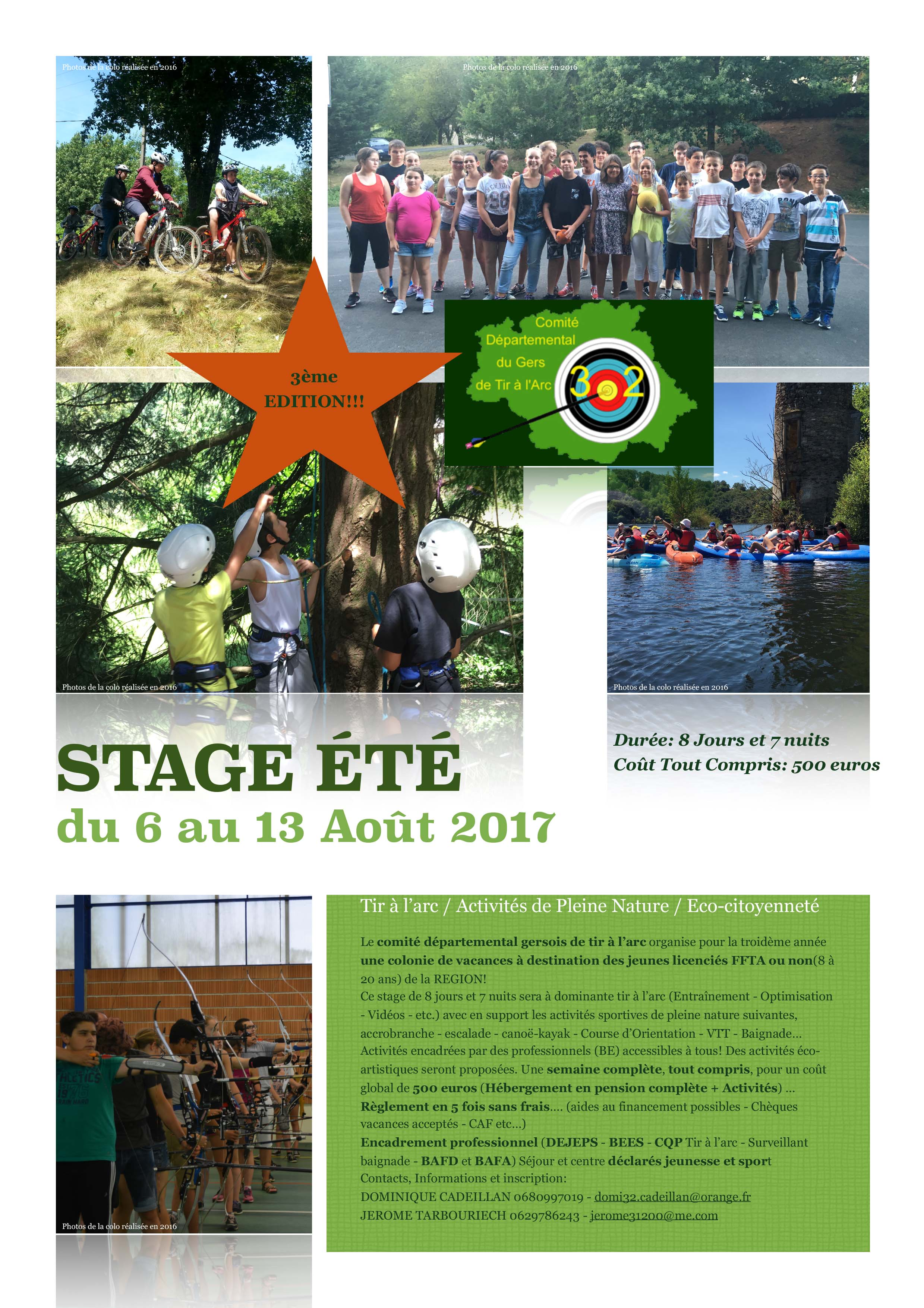 Stage-ete-CD32TA-2017